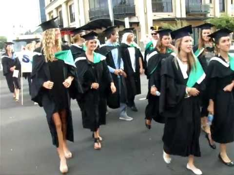 Edith Cowan University Graduation March on Feburary 25th 2012 ...