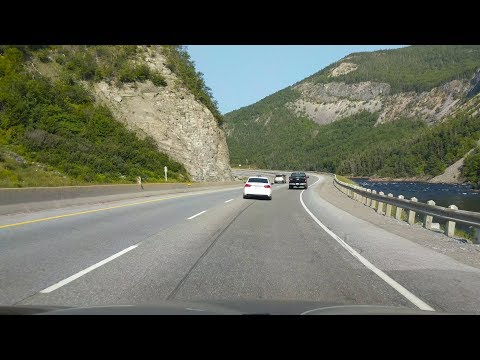 Driving the Trans-Canada Highway in Newfoundland