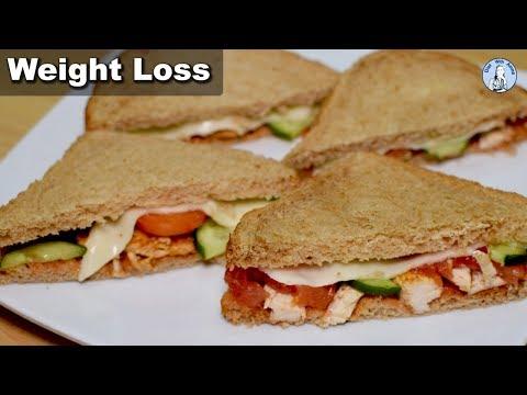 Low-fat Chicken Cheese Sandwich Recipe   Diet With Amna