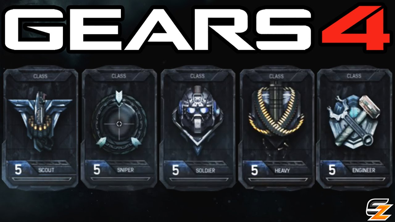 Gears of War 4 - Horde Mode 3.0 Classes Explained! (Xbox One ...