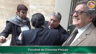 Tema: Autoridades de la UNMSM Visitan Facultades