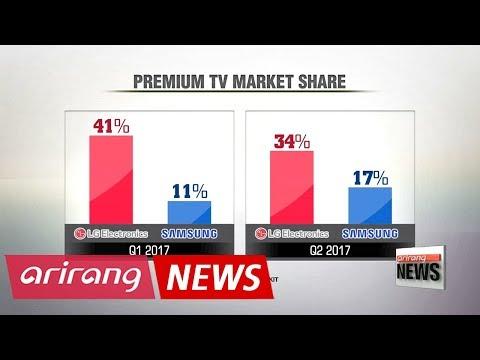 Samsung, LG engage in aggressive marketing over TV market leadership