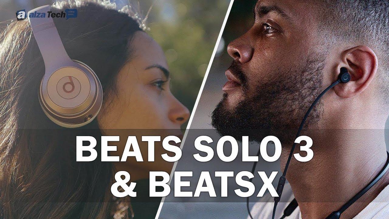 8222611e0 Vybíráme bezdrátová sluchátka: Beats Solo 3 Wireless a BeatsX! (SROVNÁVACÍ  RECENZE #759) - YouTube