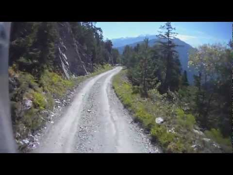 The Alps on a BMW R1200GS