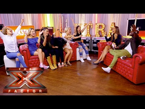 Melvin and Rochelle meet The Girls | The Xtra Factor UK 2015