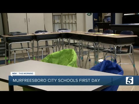 Murfreesboro City Schools start back at full capacity with masks 'strongly recommended'