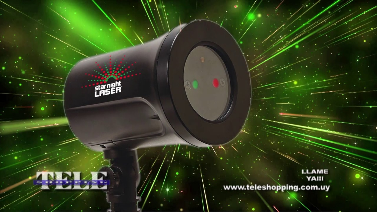Star night laser teleshopping doovi for M6 boutique projecteur laser