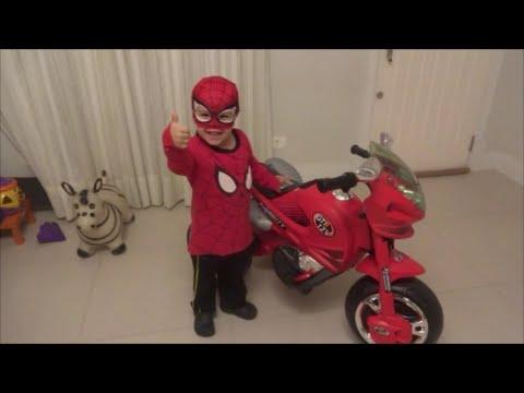 Moto do homem aranha spiderman 39 s motorcycle youtube - Spider man moto ...