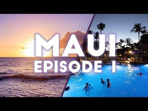 ASTON KAANAPALI SHORES SUNSET & POOL   Maui 2019 Episode 1
