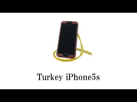 PIPI STYLE iPhone5s Turkey Neck Strap Case