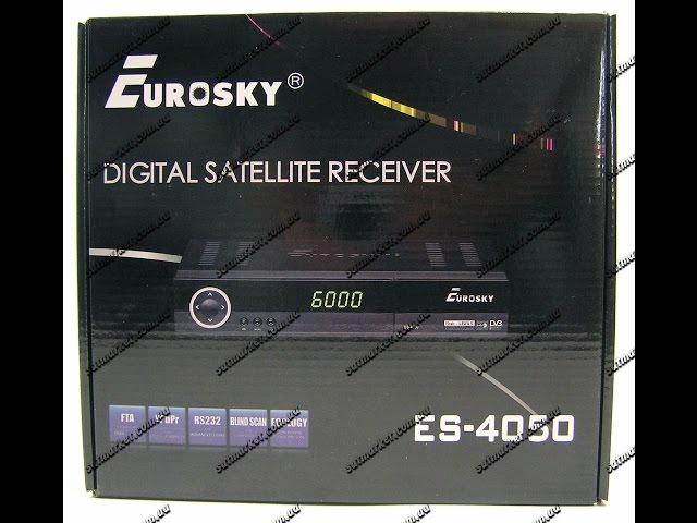 Видео обзор Eurosky ES 4050S