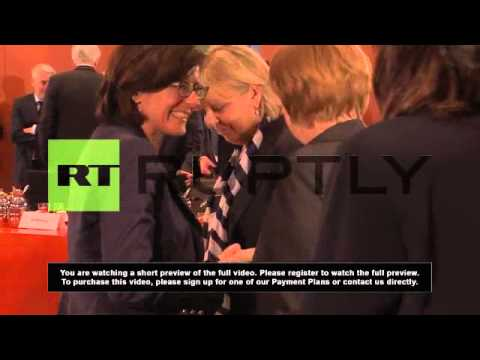 Germany: Merkel talks energy change with govt and state ministers