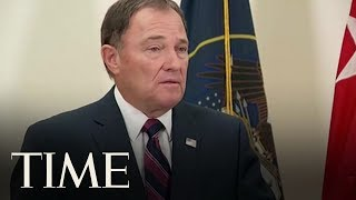 Governor Gary Herbert Speaks About Mayor Brent Taylor's Death | TIME
