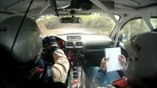 Rally Isla Verde 2012 Miguel Rodríguez - Francisco Fumero Subaru Impreza STI Cámara On - Board