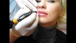 Micropigmentare contur buze Zarescu Dan 0745001236 tatuaj buze http://www.machiajtatuaj.ro