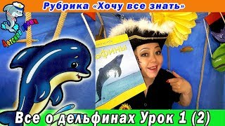 Все о дельфинах  Урок 1 (2)  Рубрика Хочу все знать