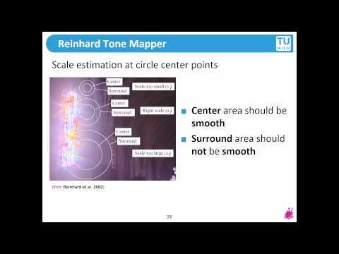 TU Wien Rendering #22 - Reinhard's Tone Mapper