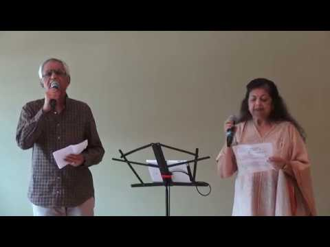 Bharti and Guest Singing Duet Karaoke song at ICC Senior Monthly Prog. on 08/09/2017  M2U04498