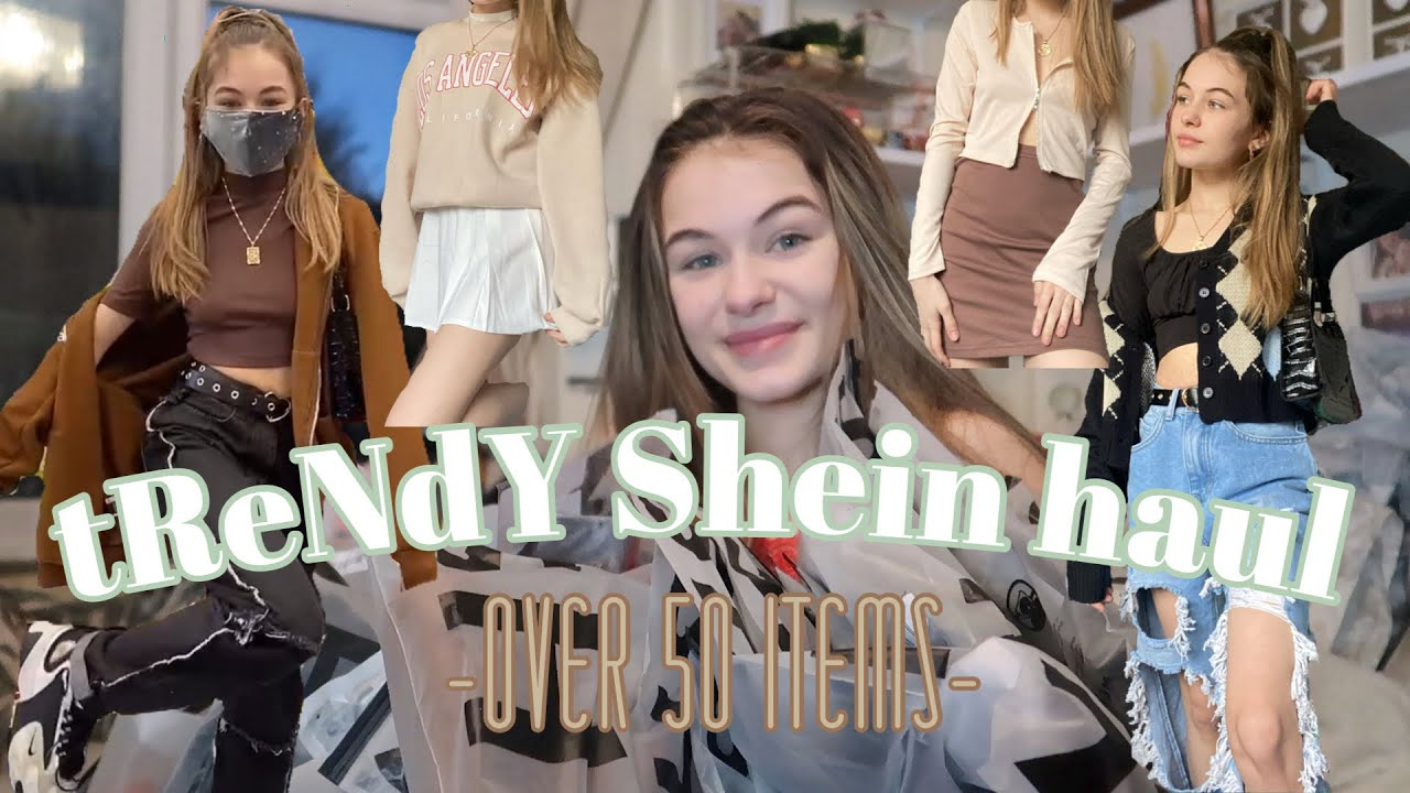 tReNdY Shein Haul | i bought clothes that i have been dying to get! || Teen Mum Haul