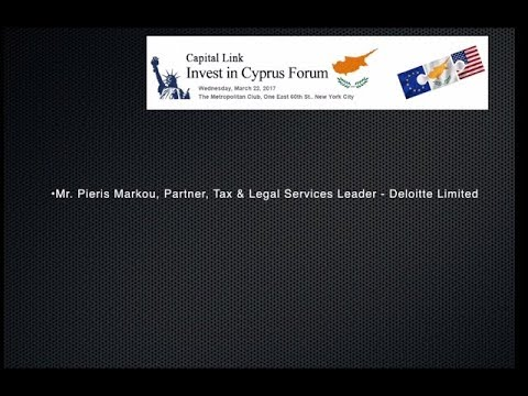 2017 Capital Link Invest in Cyprus Forum - Doing Business in Cyprus