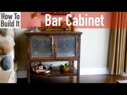 How to build a Bar Cabinet
