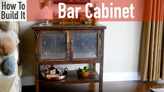 Project Plans: http://rogueengineer.com/diy-bar-cabinet-plans/ 5 Distressing Techniques: http://rogueengineer.com/5-natural-looking