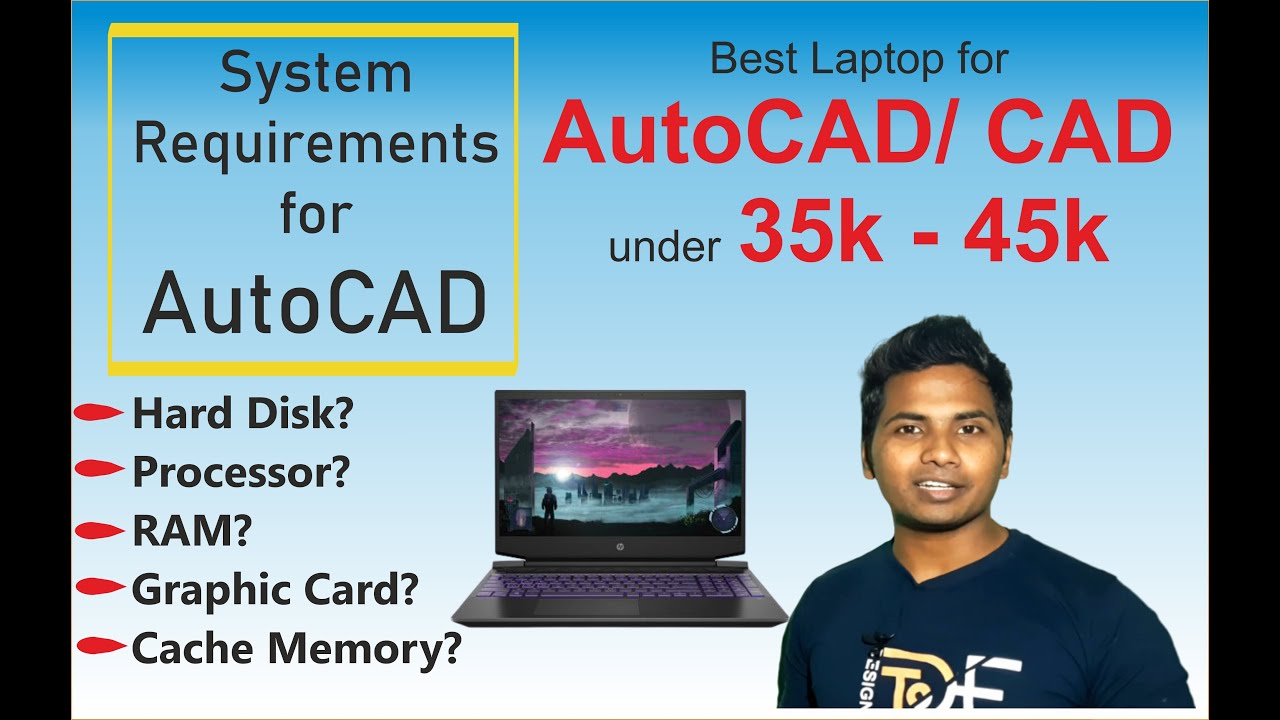 Best Laptop for AutoCAD/CAD Software 2018   System requirements for AutoCAD  2018-19 / CAD