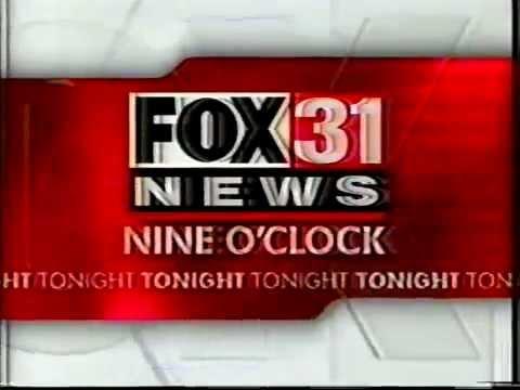 KDVR Fox 31 News 9PM Tease (2000)