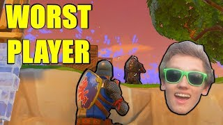 THE WORST BEST FORTNITE PLAYERS EVER..