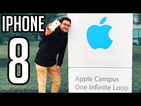Je recherche l'iPhone 8 chez Apple Campus Cupertino !