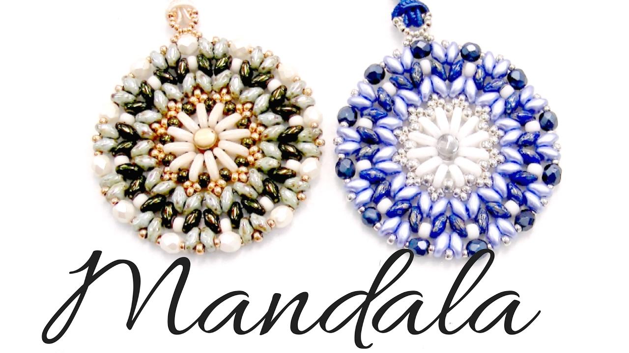 dc114fe92a4c Colgante Mandala con cuentas Bar