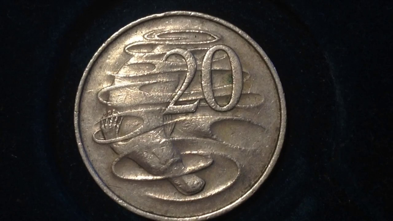 20 Cent Australia Coin Dated 1967 Youtube