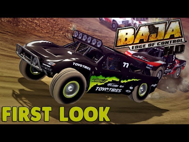 EXTREME OFF-ROAD RACING! - Baja: Edge of Control HD Gameplay - First Impression