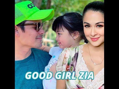 Good girl Zia - KAMI - Firstborn of celebrities Marian Rivera and Dingdong Dantes Zia - 동영상