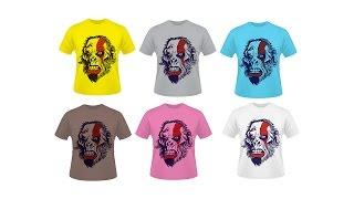 Como criar Mockup Camisas Corel Draw Tutorial