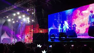 Dynamite - Westlife Live Concert The Twenty Tour 2019 at Borobudur Temple Central Java Indonesia