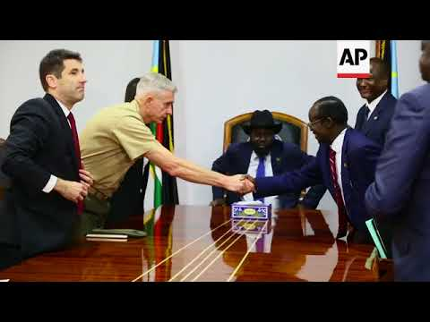US ambassador to UN arrives in South Sudan for visit