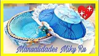 como decorar facil y rapido tortillero o panera- Miky Ru
