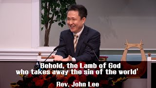 ICC WORSHIP SERMON(Sunday IM) 1/26/2020 'Behold, the Lamb of God who takes away the sin of the world
