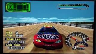 nascar thunder 2004 ps1 race 41 41 daytona beach 500