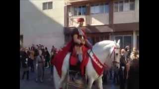 Cantó, el caballo y la Virgen de la Asunción. Fiestas de invierno Elche 2012.mp4