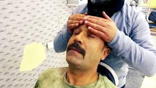 ASMR Turkish Barber Face,Head and Body Massage 79