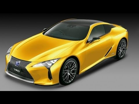 Toyota Racing Development Trd Exterior Upgrades For Luxury Lexus