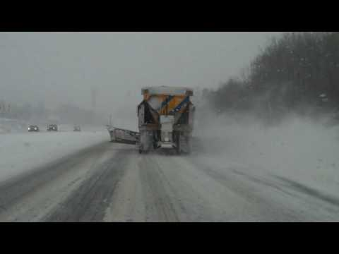NYSDOT Plowing