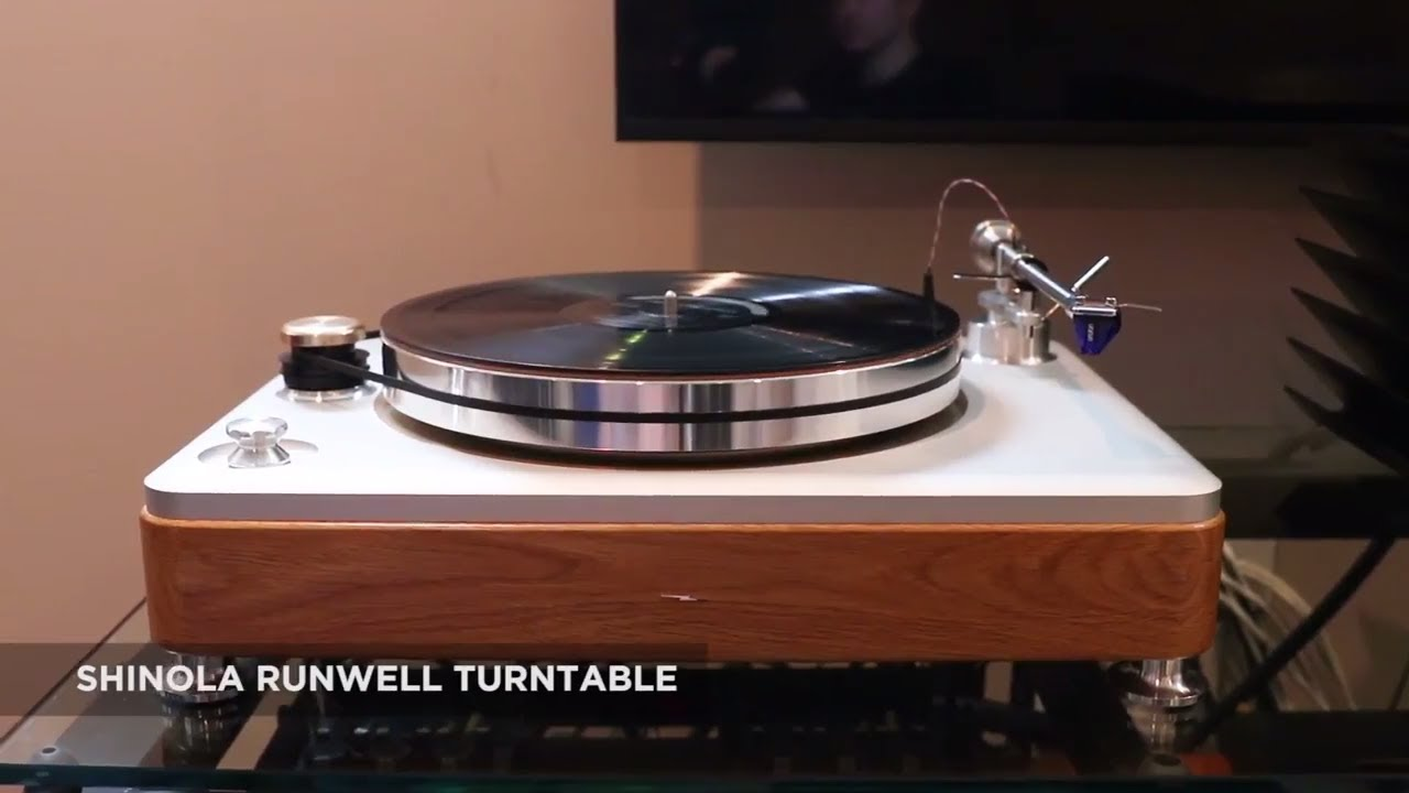 Shinola Runwell Turntable Review - SECRETS of Home Theater and High Fidelity
