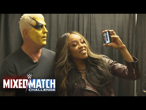 Alicia Fox surprises Goldust with the news of their pairing in WWE Mixed Match Challenge