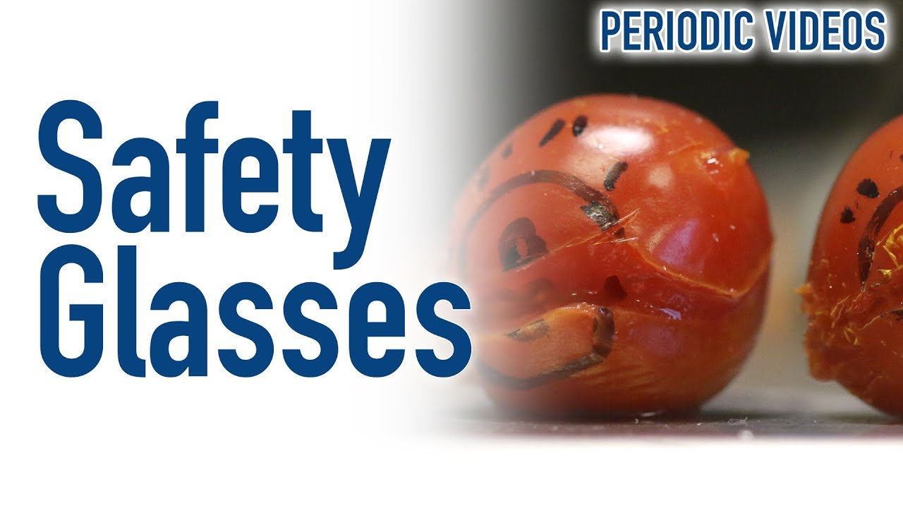 why you need to wear safety glasses periodic table of videos