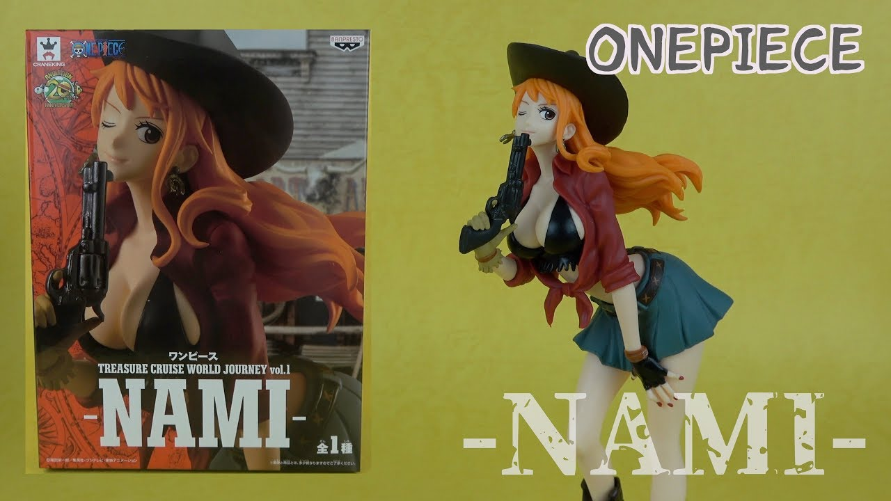 Banpresto One Piece Treasure Cruise World Journey Vol.1-Nami