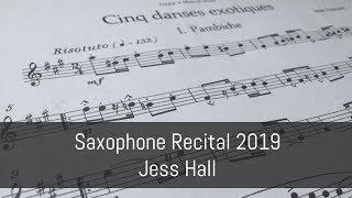 Jean Francaix: Cinq Danses Exotiques | 2019 Sax Recital
