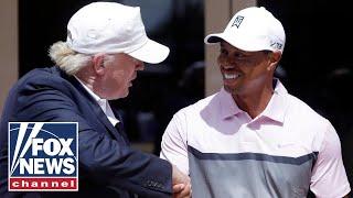 Trump reacts to Tiger Woods' car crash on 'Fox News Primetime'
